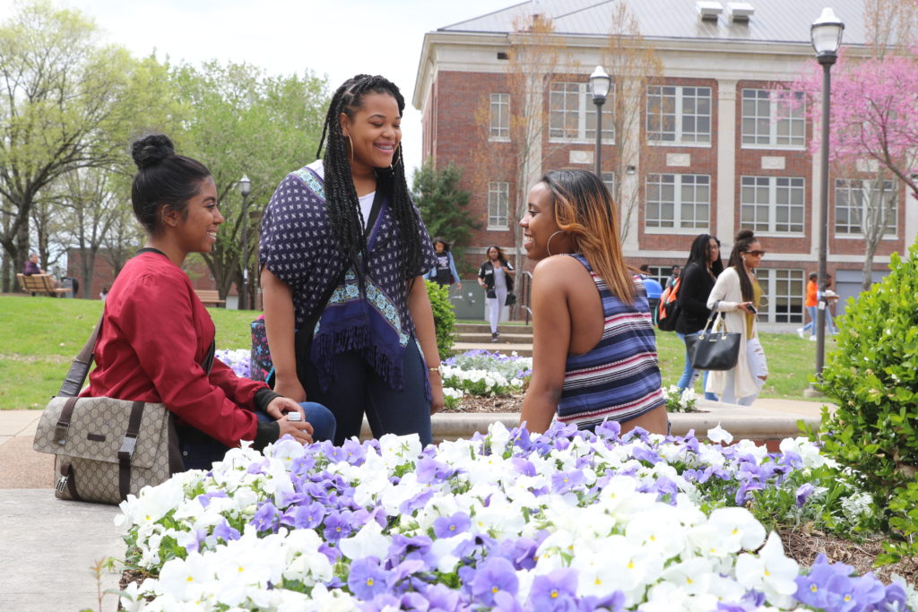 Students On the TSU Campus